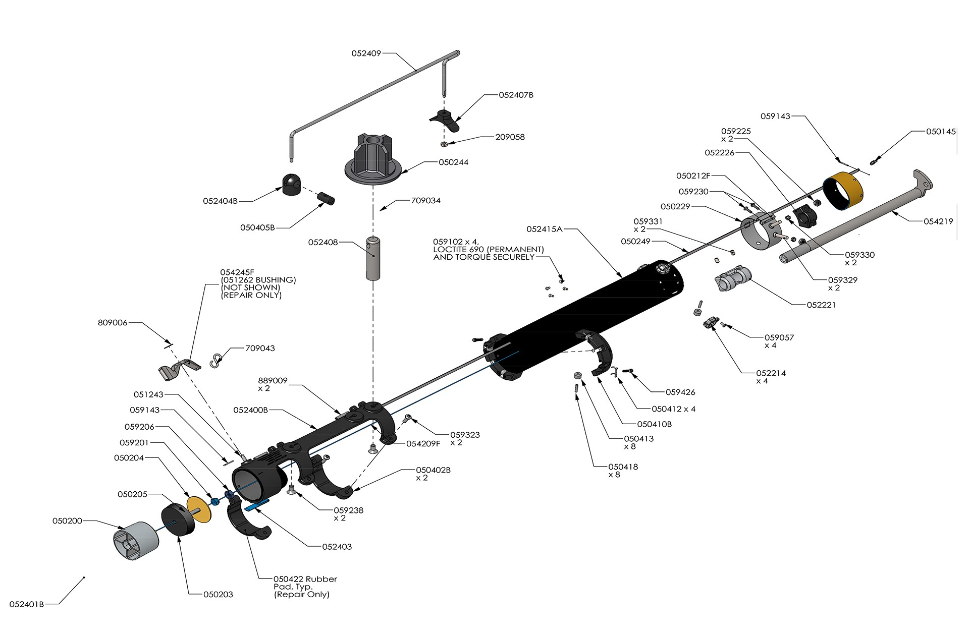 tapetech bazooka diagram    schematic