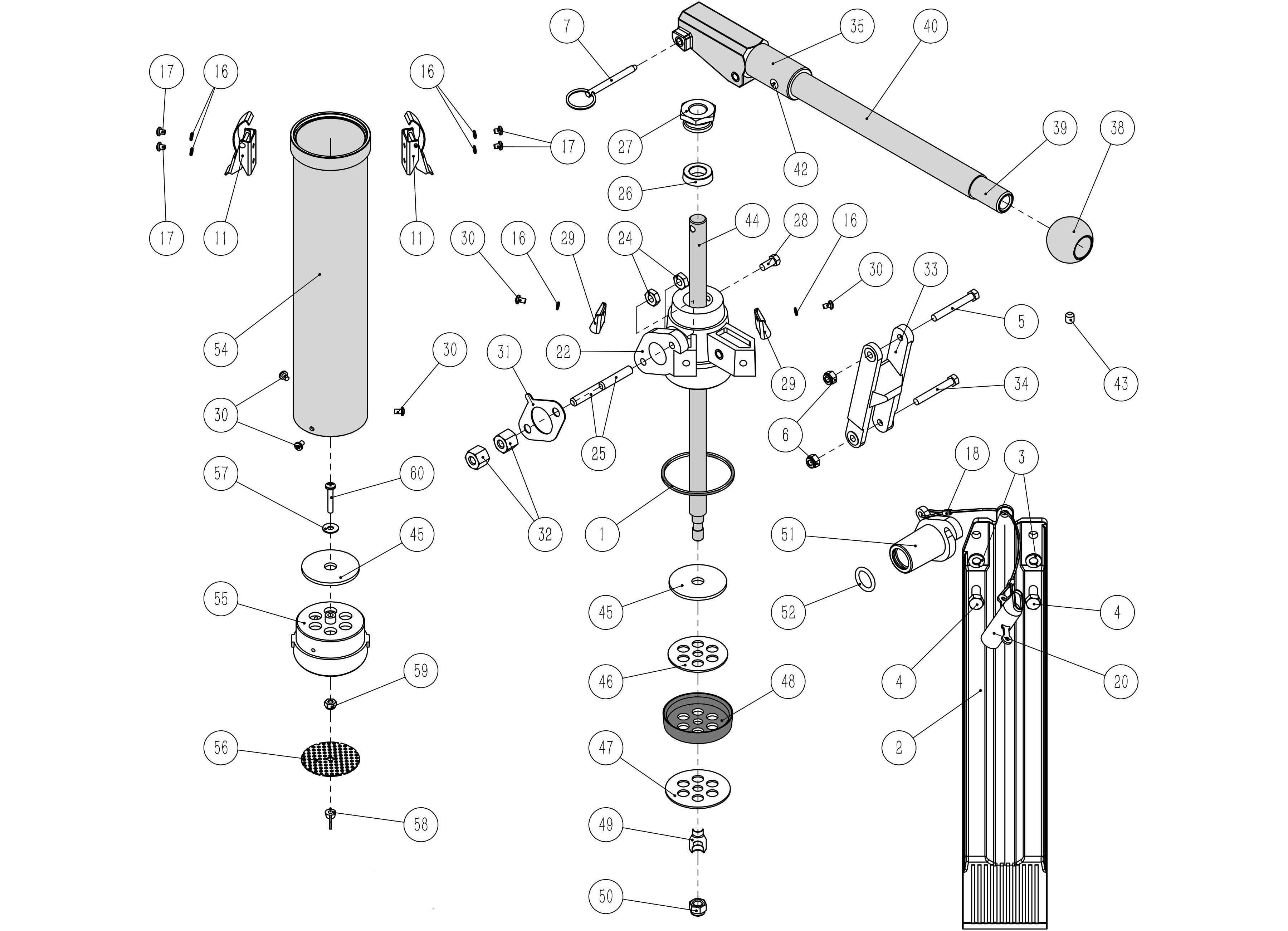 Platinum Pump Parts List