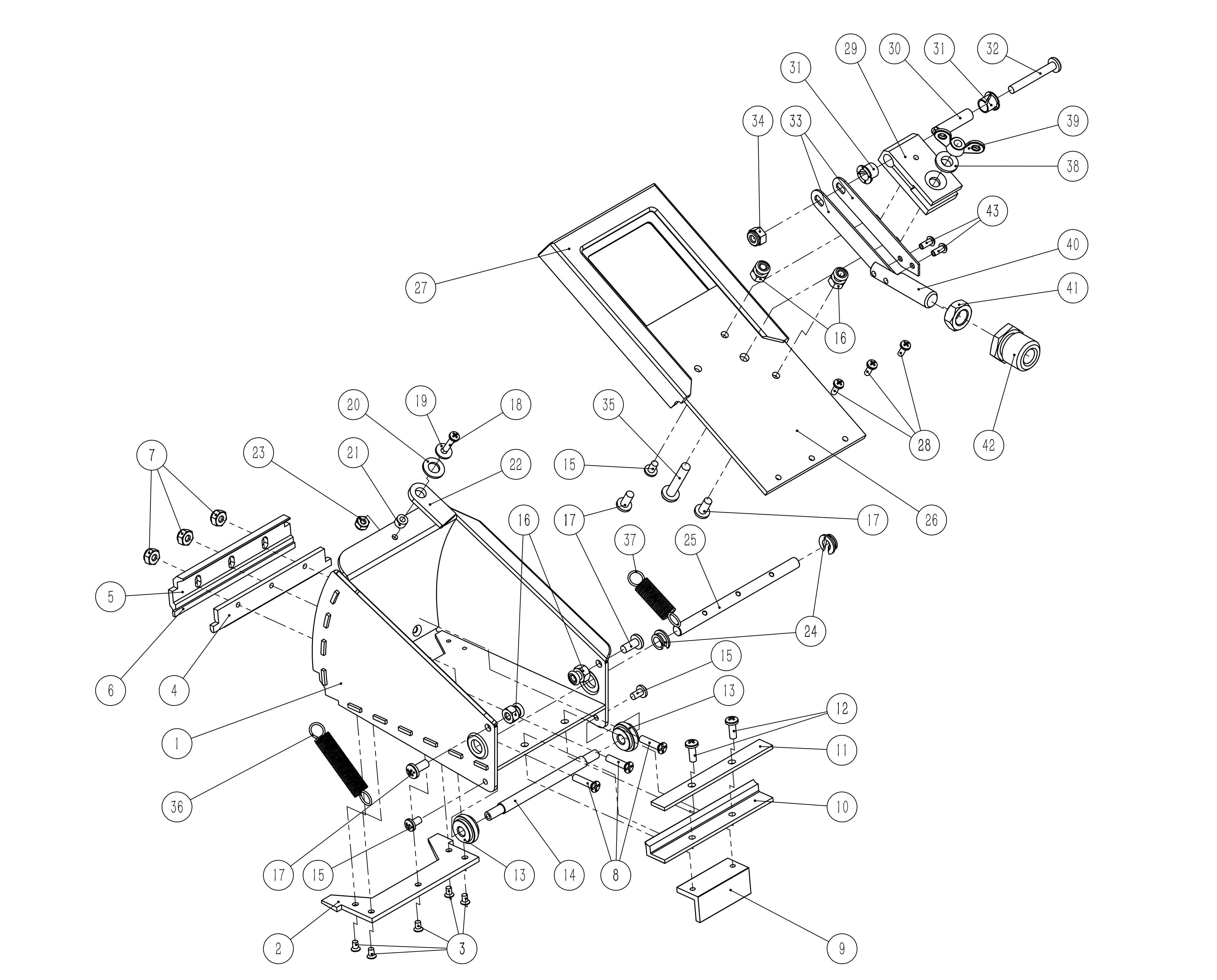 Platinum Nail Spotter Parts List