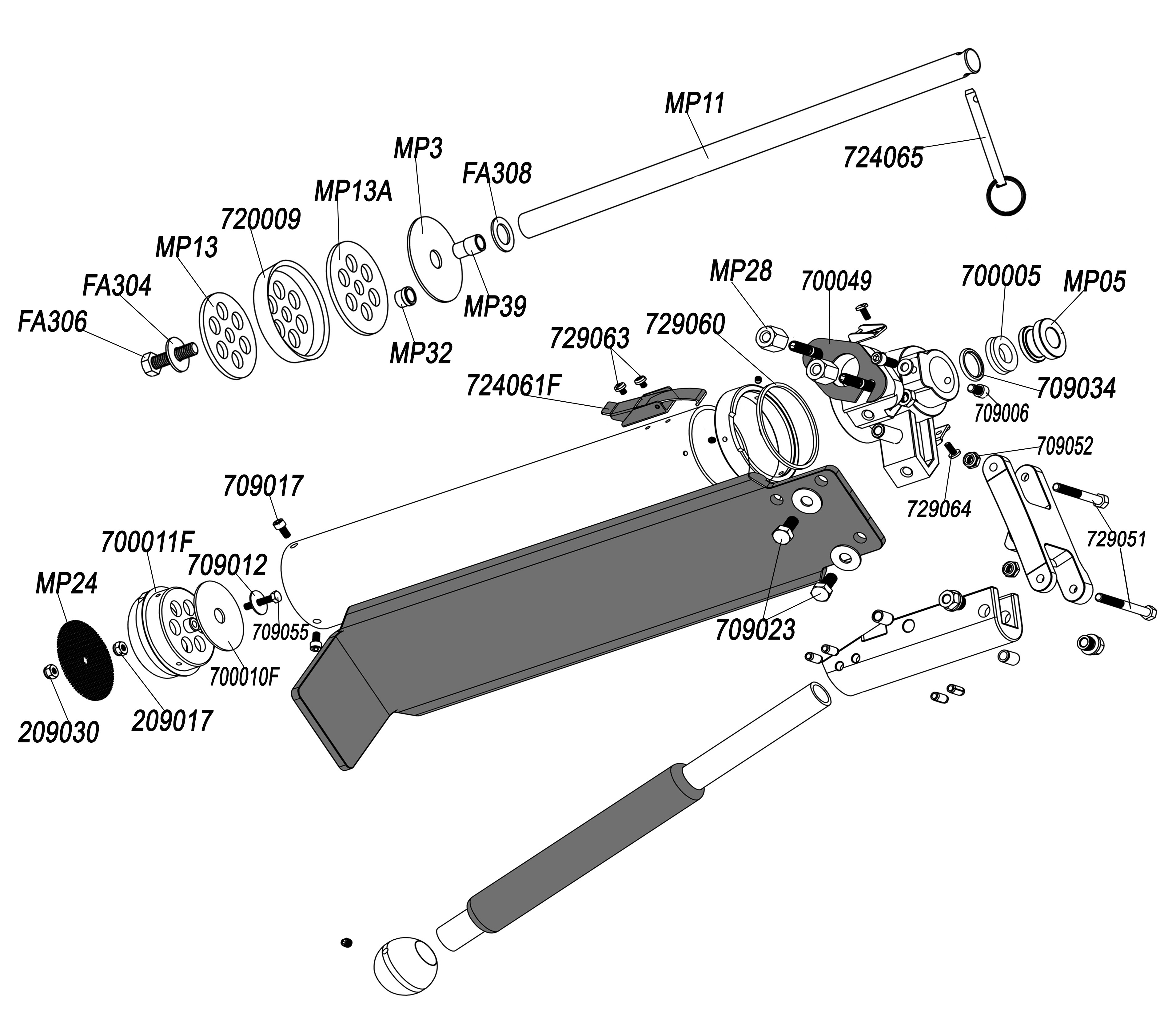 Columbia Pump Parts List