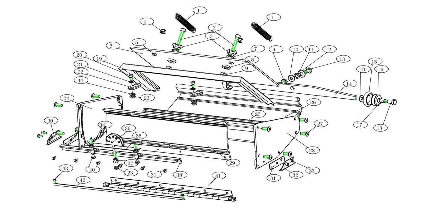 Level5 Flat Box Parts List