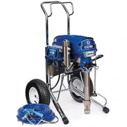 The Graco TexSpray Mark V delivers a higher flow rate to complete jobs faster