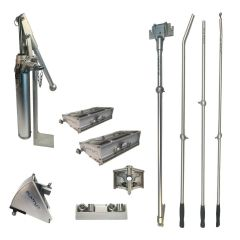 "Platinum Drywall Tools Finishing Set w/ 10"" & 12"" Flat Boxes"