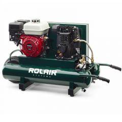 RolAir 5.5 HP Honda Gas Portable Belt Drive Air Compressor - 4090HMK103