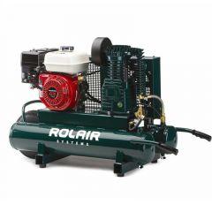 RolAir 5.5 HP Honda Gas Portable Belt Drive Air Compressor - 4090HK17