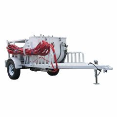 AST 270 Gallon Diesel Powered Spray Rig