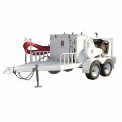 AST 350 Gallon Diesel Powered Spray Rig