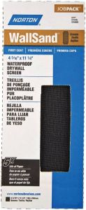 Norton Wallsand 4-3/16 By 11-1/4 Inch Drywall Sanding Screen 120 Grit Fine - 10 Pack