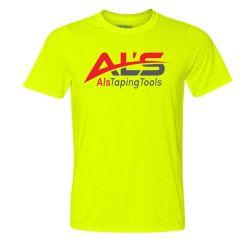 Al's Taping Tools T-Shirt - XLarge - Yellow