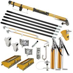TapeTech Jumbo Drywall Taping Tool Set - 10/12 Boxes, Taper, Spotter, Angle Tools