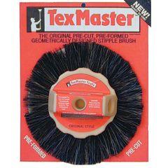 "Texmaster 8"" Drywall Rosebud Texture Brush"
