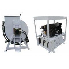 AST 150 Gallon Gas Powered Spray Rig - Skid