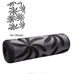 ToolPro Pin Wheel Foam Texture Roller Cover