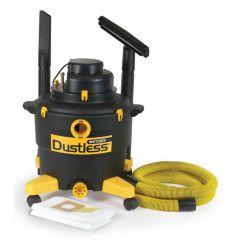 Dustless Technologies 16 Gallon Wet/Dry Vacuum w/ 12ft Hose - D1603