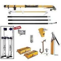 TapeTech Full Set of Taping & Finishing Tools w/ FREE Stilts